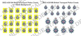British Transport Police Vehicle Badges